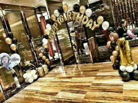 昆明花語花香商場氣球布置年會氣球布置慶典氣球裝飾