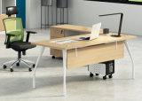 膠板辦公桌02A-01款 綠色環保實木顆粒板