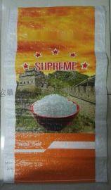 厂家直销BOPP彩膜大米编织袋
