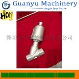 气动焊接角座阀 气控角座阀 气动防水锤角座阀