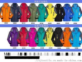 各種類型衝鋒衣