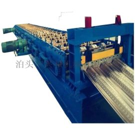 兴和机械全自动750楼承板压瓦机