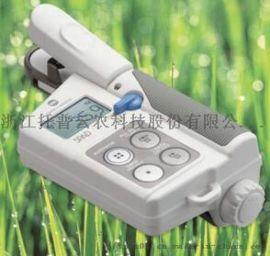 便携式叶绿素测定仪的使用方法演示