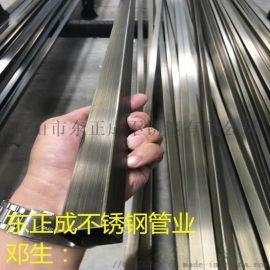 北海彩色不锈钢方管,青古铜304不锈钢方管