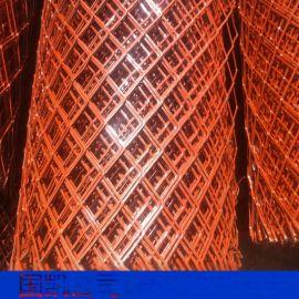 河北钢板网厂家 防护网 菱形冲孔网