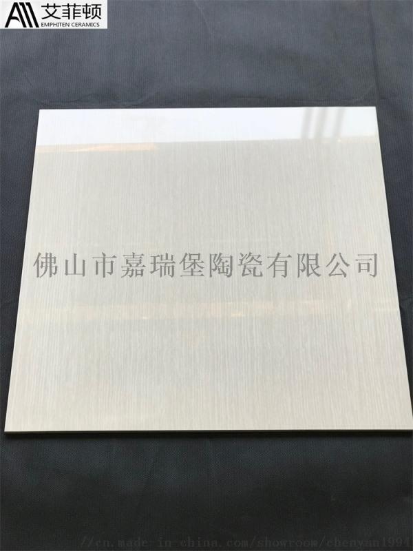佛山陶瓷简约黄木纹抛光砖800*800耐磨瓷质砖