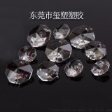 透明水晶八角珠燈飾工藝品廠家