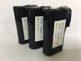 18650并联 电池组 保暖服 电池