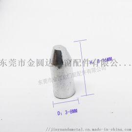 铝门窗中挺铁销钉尖头圆柱铝材铆钉