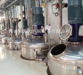 广东不锈钢反应釜 不饱和树脂 锂电池负极材料设备