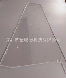 透明4.0mm压克力 CNC雕刻 亚克力塑料板工艺开孔深加工