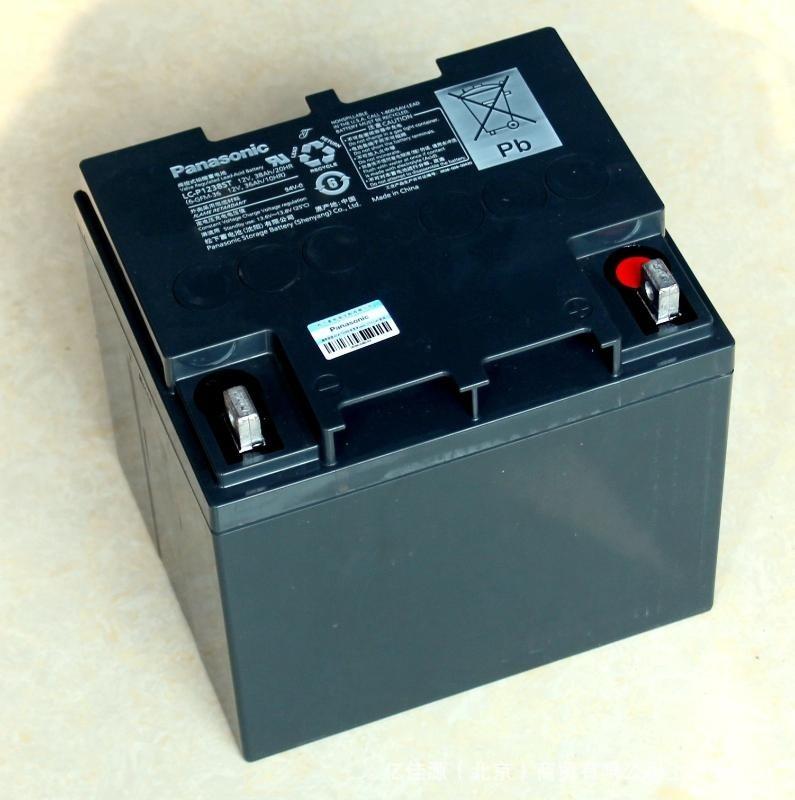 松下LC-P1238ST 12V38AH閥控式鉛酸UPS/EPS電源直流屏蓄電池