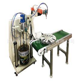 供应密封条点胶机 机器人配套压盘打胶机 密封条压盘注胶机点胶机