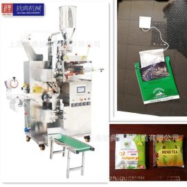 钦典全自动蒲核茶蒲砂茶石米茶叶袋泡茶包装机板茵茶翁艾茶