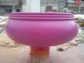 玻璃钢紫色艺术花坛、玻璃钢花坛、玻璃钢花盆