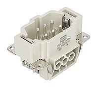 6芯插头/HE-006-M/16A/500V/6KV/3