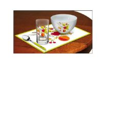 PP环保塑料餐垫