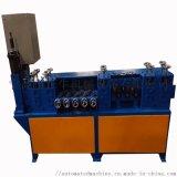 全自动不锈钢铜线扁铁调直切断机 扁铜矫直下料机