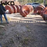 江西螺旋溜槽厂家直销 沙金钨银矿螺旋溜槽现货