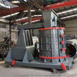大型移动式建筑垃圾破碎机 书控股变频立轴制砂机