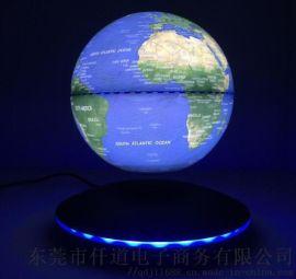 磁悬浮6寸超薄地球仪-触控发光