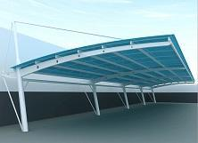 合肥阳光板车棚、雨棚|设计定做找骏阳车棚厂