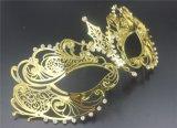 化装舞会面具、威尼斯面具、节日庆典面具、豪华金属面具