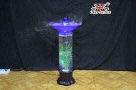 氧加湿器,七彩水柱加湿器,水柱雾化灯,七彩氧吧灯