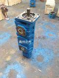 青州市北方液压机械厂供应CBY3125/3050/3050/2032-249R四联液压齿轮泵型号
