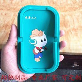 PVC软胶手机防滑垫 OPPO手机周边促销礼品 卡通公仔手机座支架 可开模定制