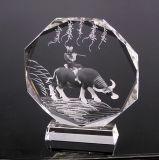 水晶纪念深雕摆件   活动颁奖奖杯 k9水晶奖牌
