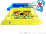 安徽合肥儿童充气彩色池子决明子池摸鱼池价格