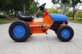 新款脚踏式儿童工程车高品质童车