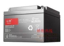 山特UPS电源电池铅酸蓄电池免维护12V100AH C12-100AH
