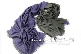丝绒加金丝线围巾(SC43047)