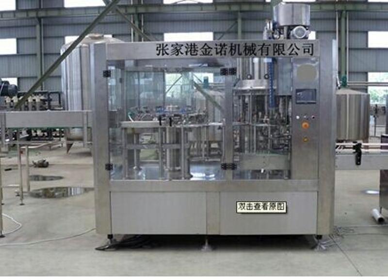 供應全自動飲料生產設備 三合一灌裝機 飲用水生產線