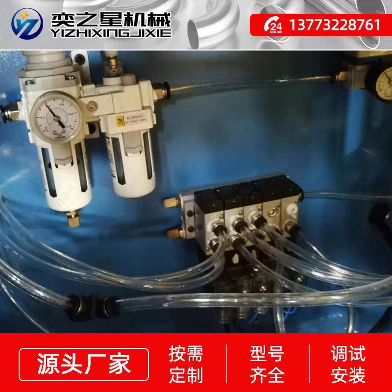 全液压无尾料角铁风管生产线 全自动多角度冲孔机