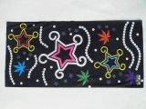 黑底星星枫叶魔术头巾(T-2082)