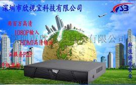 8路nvr 数字硬盘录像机 百万高清 960P/1080P网络监控主机