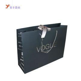 厂家定做购物纸袋 欧美时尚手提购物纸袋