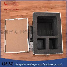 供应2017铝箱 铝合金工具箱 防水仪器箱 箱子定制