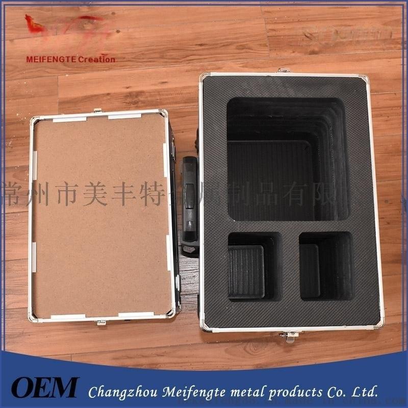 供應2017鋁箱 鋁合金工具箱 防水儀器箱 箱子定製