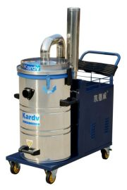 凯德威380V纯工业吸尘器码头港口清理用大功率吸尘器