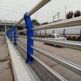 公园景区护栏 河道不锈钢护栏 桥梁护栏网