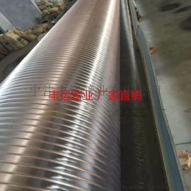 丰运供应PU钢丝伸缩管聚氨酯弹性钢丝通风管