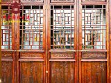 昆明仿古门窗厂家,实木大门,昆明古镇改造,风貌工程