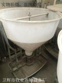 猪料槽 自动干湿料槽 大猪料槽食槽猪用自动料槽 养猪设备 猪食槽