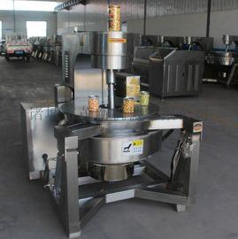 茂新直销大型全自动美式 圆形爆米花机 电加热自动爆米花机