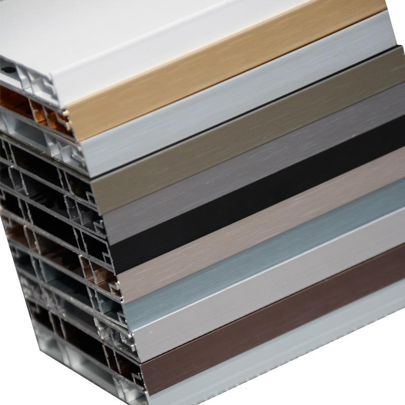 佛山迈泽建材铝合金地脚线,厂家直销,高性价比!种类齐全铝合金踢脚线