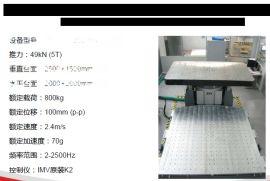 10T大型振动台/2M大型台面/100G加速度